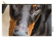 Just A Doberman Carry-all Pouch