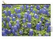 Just Bluebonnets Carry-all Pouch