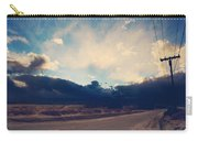 Just Down The Road Carry-all Pouch by Laurie Search