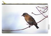 Just Enough - Eastern Bluebird Carry-all Pouch