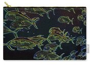 Mad Fish Abstract Carry-all Pouch