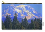 Just Over The Hill Mt. Rainier Carry-all Pouch
