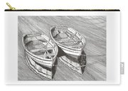 Two Dinghy Friends Just The Two Of Us Carry-all Pouch
