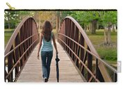 Just Walk Away Renee Carry-all Pouch by Laura Fasulo