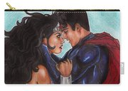 Justice League Carry-all Pouch by Leida Nogueira