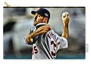 Justin Verlander Painting Carry-all Pouch