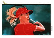 Justine Henin  Carry-all Pouch by Paul Meijering
