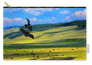 Juvenile Eagles Play Fight Carry-all Pouch