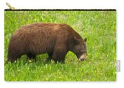 Juvenile Grizzly Bear In Kootenay Np-bc Carry-all Pouch