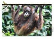 Juvenile Orangutan Borneo Carry-all Pouch