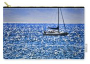 Kaana Pali Beach In Maui Carry-all Pouch by David Smith