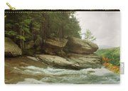 Kaaterskill Falls In Autumn, Catskill Carry-all Pouch