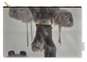 Kachina Doll Bear Head Removed Carry-all Pouch