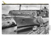 Kaethe P Container Ship Panama Canal Monochrome Carry-all Pouch