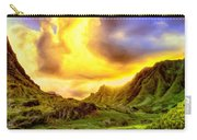 Kahana Valley Sunset Carry-all Pouch