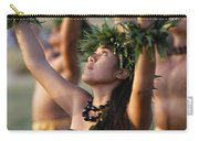 Kahiko Hula Dancers Carry-all Pouch