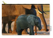 Kalahari Elephants Carry-all Pouch