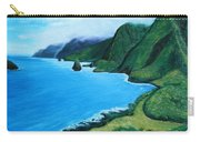 Kalaupapa Peninsula Carry-all Pouch