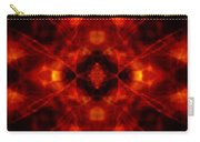 Kaleidoscope Red Carry-all Pouch
