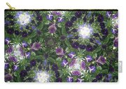 Kaleidoscope Violets 2 Carry-all Pouch