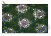 Kaleidoscope Violets Carry-all Pouch