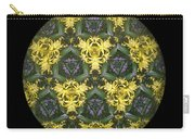 Kaleidoscopic Posies Carry-all Pouch