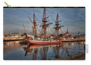 Kalmar Nyckel At Anchor In Salem Ma Carry-all Pouch