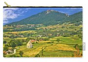 Kalnik Mountain Green Hills Scenery Carry-all Pouch