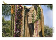 Kamehameha Covered In Leis Carry-all Pouch