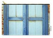 Kampot Blue Shutters Carry-all Pouch