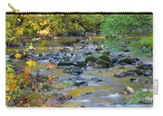 Kanaka Creek In The Fall Carry-all Pouch