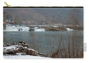 Kanawha Falls - Winter Carry-all Pouch