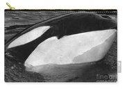 Kandu Orca Seattle Aquarium 1969 Pat Hathaway Photo Killer Whale Seattle Carry-all Pouch
