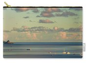 Kaneohe Bay Panorama Mural 3 Of 5 Carry-all Pouch