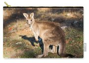 Kangaroo - Canberra - Australia Carry-all Pouch