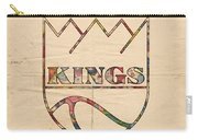 Kansas City Kings Retro Poster Carry-all Pouch