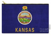 Kansas State Flag Carry-all Pouch