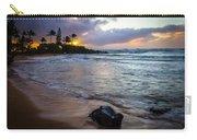 Kapa'a Kauai Sunrise Carry-all Pouch