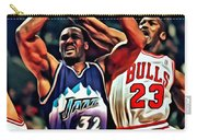 Karl Malone Vs. Michael Jordan Carry-all Pouch