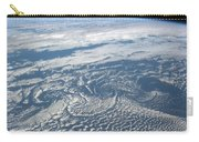 Karman Vortex Cloud Streets From Space Carry-all Pouch