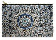 Kasbah Of Thamiel Glaoui Zellij Tilework Detail  Carry-all Pouch