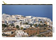 Kastro Village In Sifnos Island Carry-all Pouch