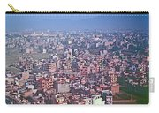 Kathmandu From The Airplane-nepal  Carry-all Pouch