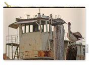 Katrina Ghost Boat And Pelicans Carry-all Pouch