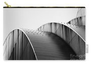 Kauffman Center Black And White Curves Photography Carry-all Pouch