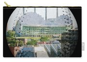 Kauffman Center For The Performing Arts Square Baseball Carry-all Pouch by Andee Design