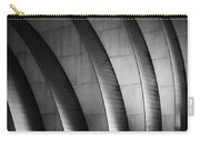 Kauffman Performing Arts Center Black And White Carry-all Pouch
