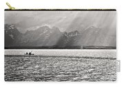 Kayakers On Jackson Lake Carry-all Pouch