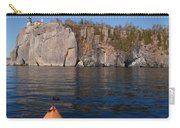 Kayaking Beneath The Light Carry-all Pouch