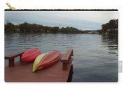 Kayaks By The Lake Nj Carry-all Pouch